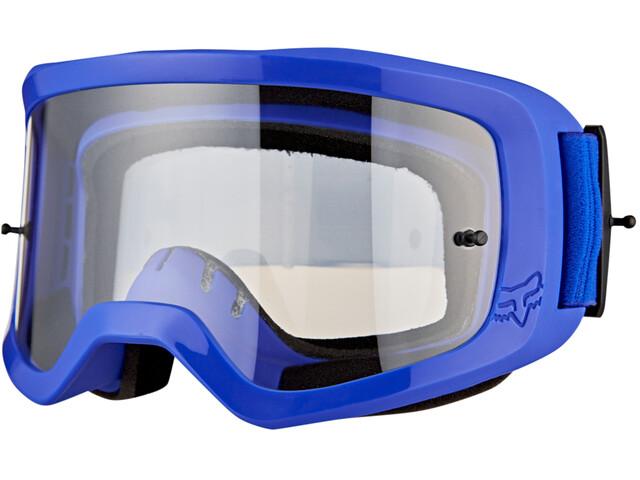 Fox Main II Race Goggles blue/clear